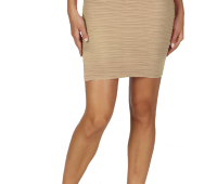 Textured compression skirt
