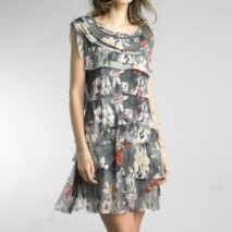 Floral tired dress